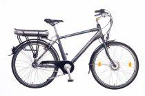 Neuzer E-City férfi Elektromos kerékpár - antracit/ezüst-cián 18 - 26