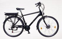 Neuzer E-Trekking Zagon férfi Elektromos kerékpár - fekete/bronz/kék 19 - 28