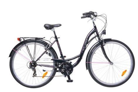 Neuzer Ravenna 30 Női Trekking kerékpár - fekete - pink