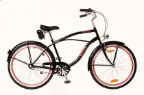 Neuzer-Picnic-Cruiser-bicikli-Ferfi-fekete/piros-2