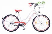 Neuzer-Picnic-Cruiser-bicikli-Noi-feher/piros-26-N