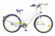 Neuzer-Picnic-Cruiser-bicikli-Noi-feher/lila-zold
