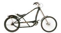Neuzer-Jaguar-Chopper-kerekpar-fekete/bronz