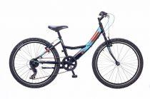 Neuzer-Maja-lany-bicikli-fekete/piros-24-6s