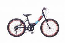 Neuzer-Maja-lany-bicikli-fekete/piros-matt-20-6s