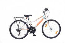 Neuzer-Bobby-city-bicikli-feher/narancs-cian-24-18