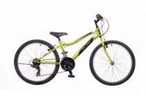 Neuzer-Bobby-bicikli-neonzold/fekete-feher-24-18s