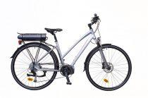 Neuzer Menton női Elektromos kerékpár - ezüst/piros-szürke 18 - 28