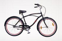 Neuzer-Miami-Cruiser-bicikli-Ferfi-fekete/piros