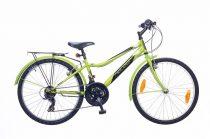 Neuzer-Bobby-city-bicikli-neonzold/fekete-feher-24