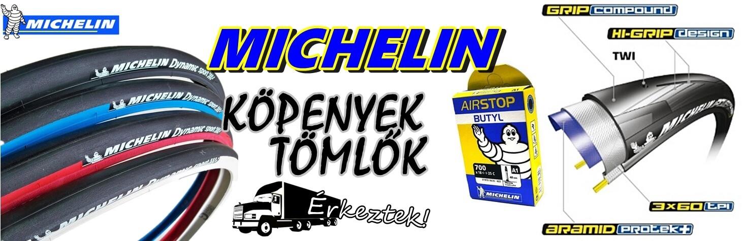 Michelin köpeny - tömlő akció